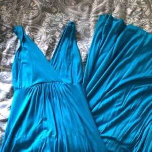 Turquoise Soprano Maxi Dress